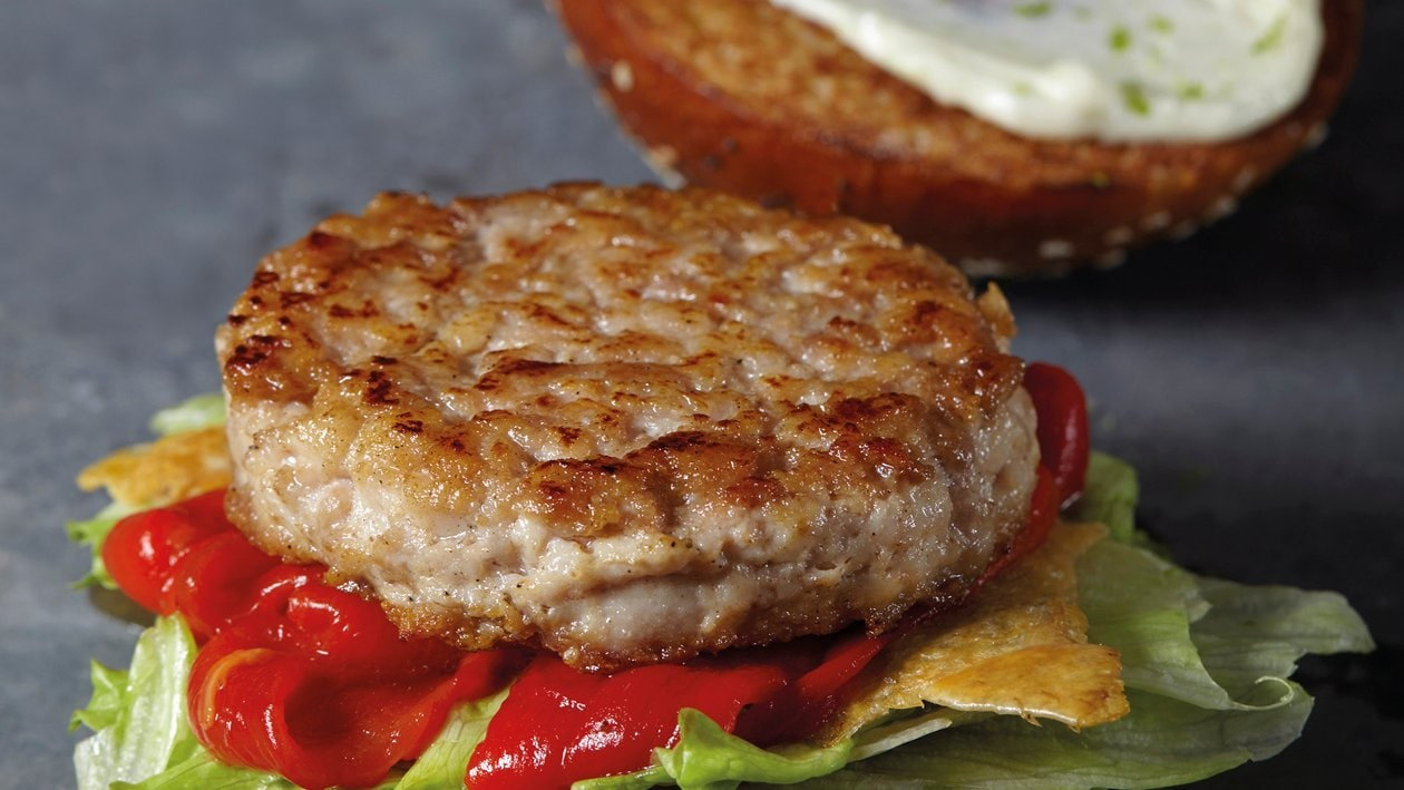 Huhn Burger