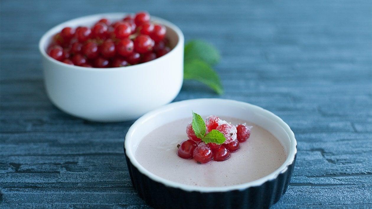 Fruchtige Panna Cotta