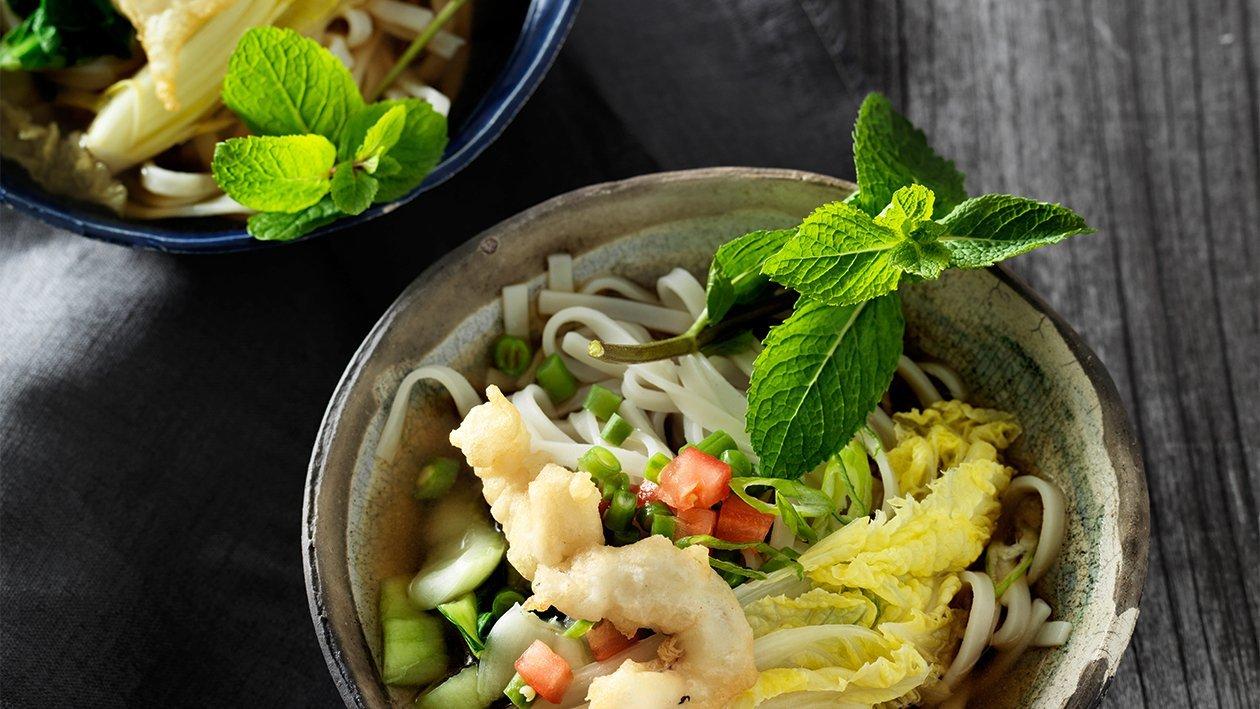 Asiatischer Knusper Teig für Gemüse und Fleisch