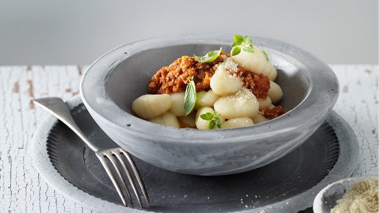 Vegane Bolognese für Gnocchi