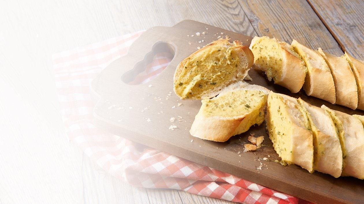 Baguette mit Knoblauchcreme