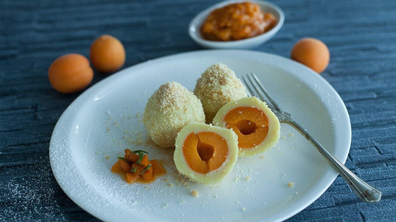 Fruchtknödel mit Kartoffel-Topfenteig