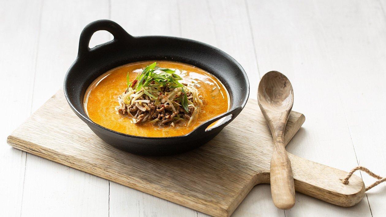 Mett - Lauch-Suppe