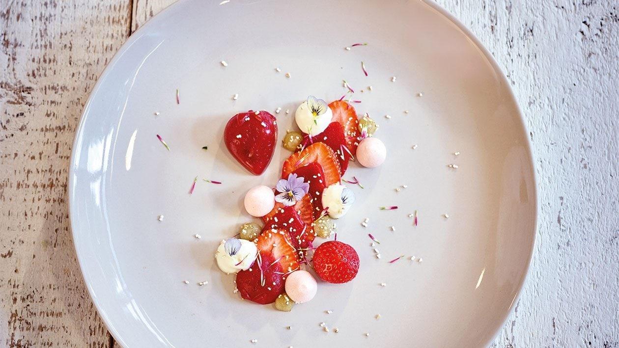 Dreierlei von der Erdbeere