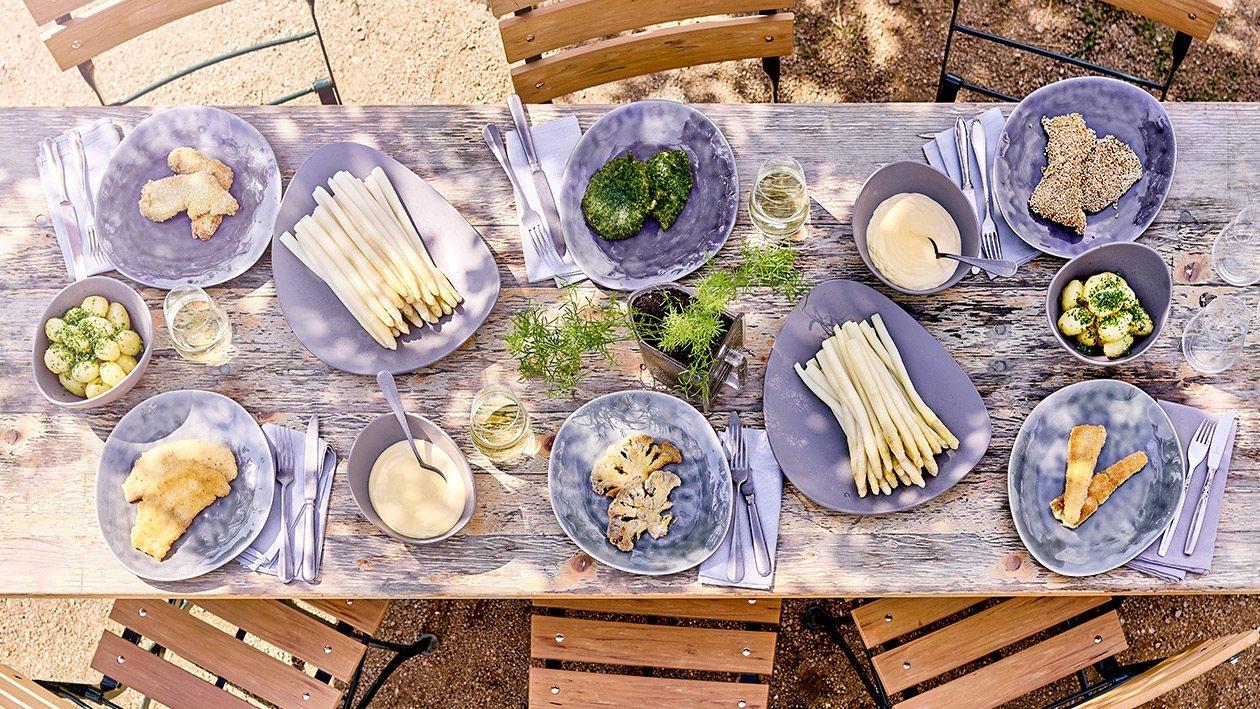 Schnitzel mit Quinoapanade