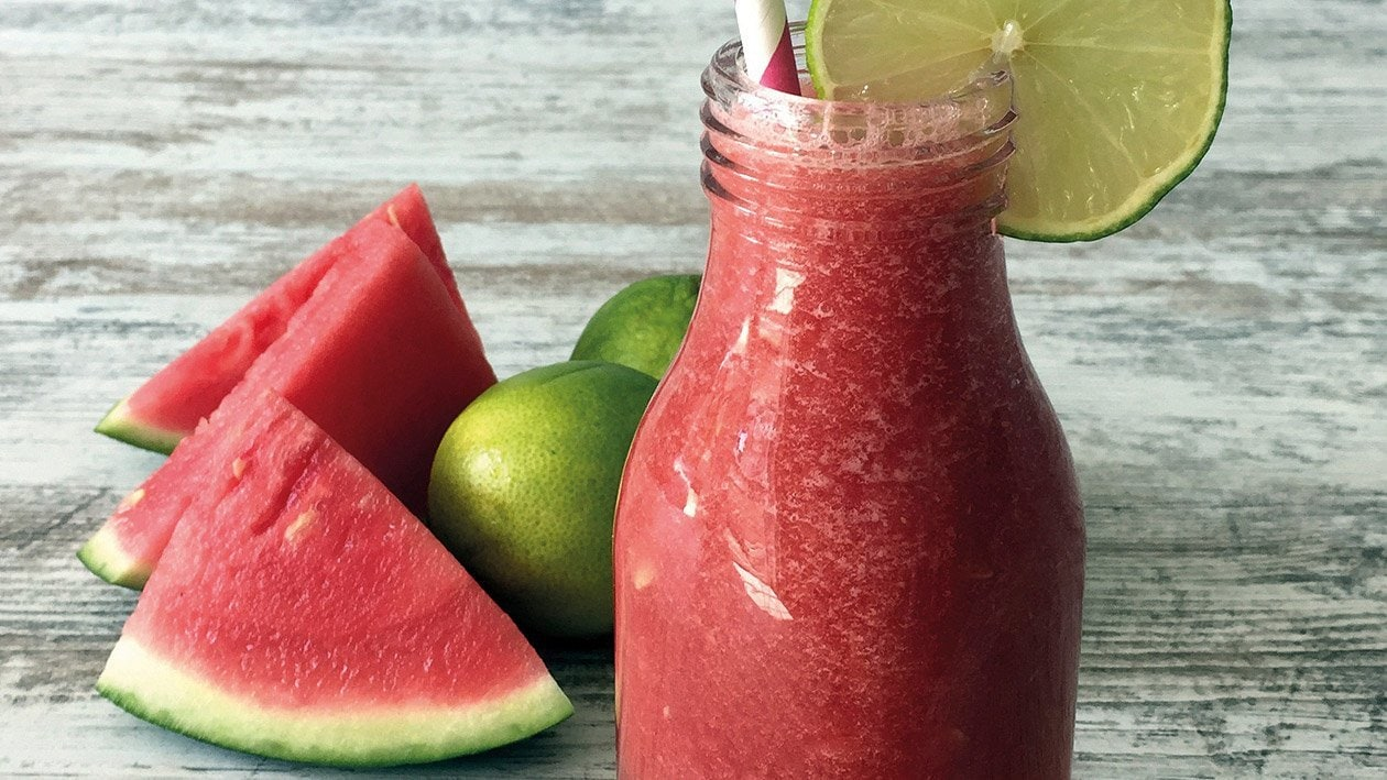 Wassermelonen Smoothie Vegan